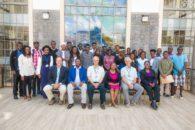 Group photograph of participants at the MIL training for university students at Riara University, Nairobi, Kenya (Pic courtesy: CMIL-Kenya)