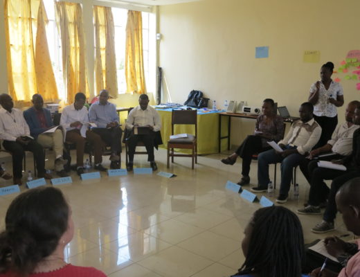 Participants during the MIL workshop at St. Paul's Centre in Kigali, Rwanda.